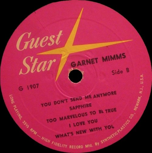 """Garnet Mimms : CD """" The Early Years Featuring The Gainors : The Complete Recordings 1958-1961 """" Jasmine Records JASCD 945 [ CZ ]"""