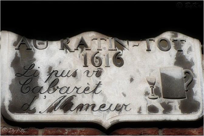 Le Vieux Namur (Be) ~ Quelques enseignes ...