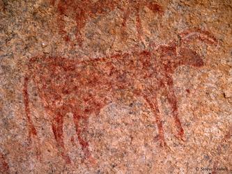 Peintures rupestre dans le Hoggar