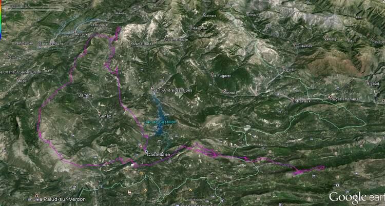 2 jours de cross dans les alpes du sud : Acte1