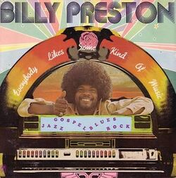 Billy Preston - Everybody Likes Some Kind Of Music - Complete LP