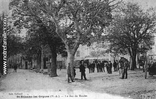 cartes-postales-Le-Jeu-de-Boules-ST-ETIENNE-LES-ORGUES-4230