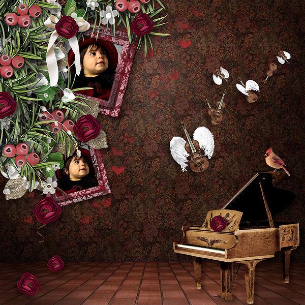 """""""Love Melody"""" par Paprika et Doudou'D"""