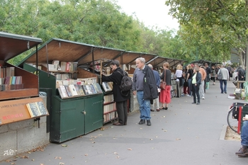 Bouquinistes à Paris