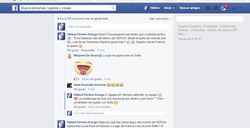 Réponse Marjorie de Sousa - Facebook + Twittcam + Twitter