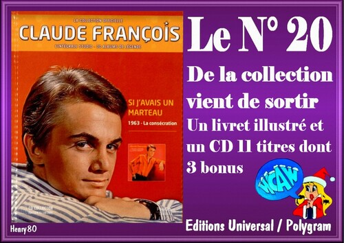 N° 20 DE LA COLLECTION OFFICIELLE