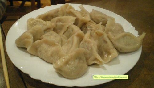 Raviolis à volonté chez Jie Bai He - 吉百合的饺子