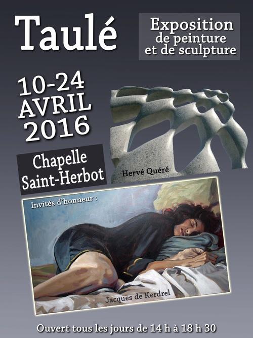Exposition à la chapelle St Herbot à Taulé