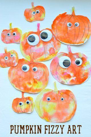Petites citrouilles d'halloween (image Pinterest)