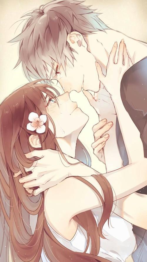 Image de anime, love, and couple