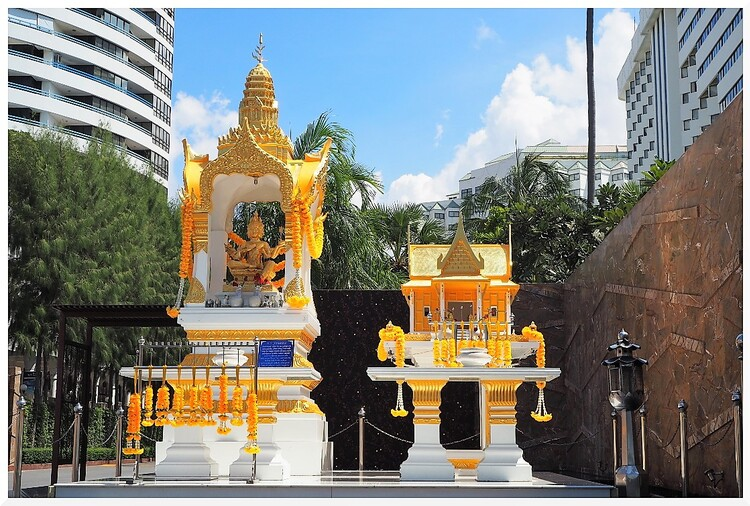 Maison aux Esprits. Thaïlande