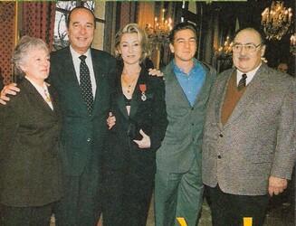 03 mars 1998 : Chevalier de la Légion d'Honneur