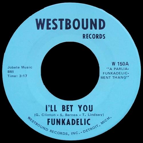 """Funkadelic : Album """" Funkadelic """" Westbound Records WB 2000 [ US ]"""