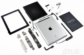 iPad 3 - Vue éclatée
