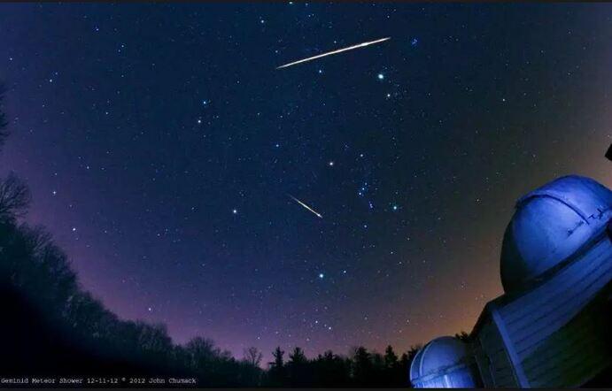 Les étoiles en piste...