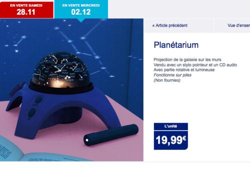 Planétarium à 19,99€