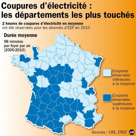 Si l'hiver est rigoureux, le black-out menace la France.