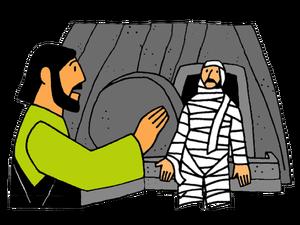 Jésus lève Lazare