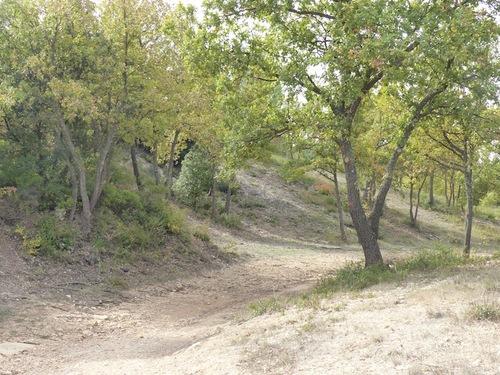 Grotte du tonneau et oppidums