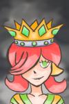 Fille à couronne