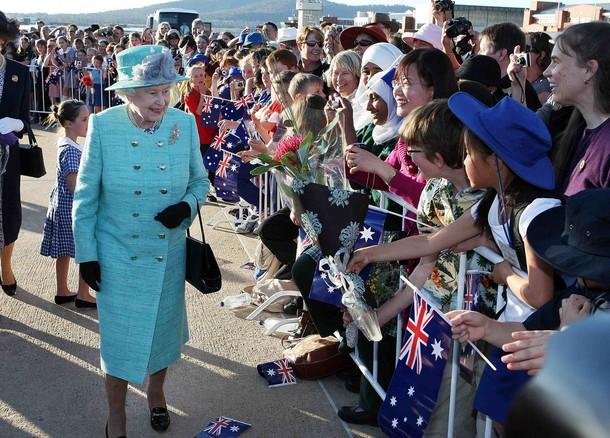 Elizabeth et Philippe en Australie