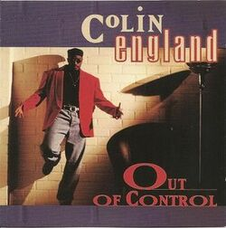 Colin England - Out Of Control - Complete CD