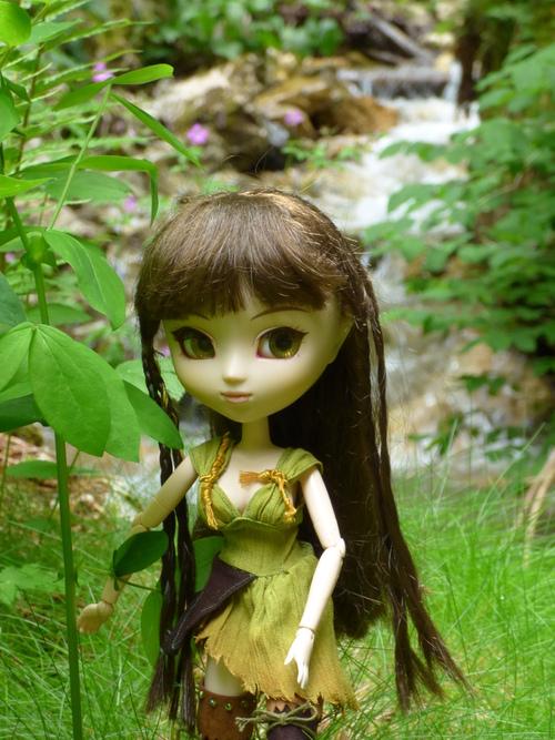 Eldana, elfe de la forêt