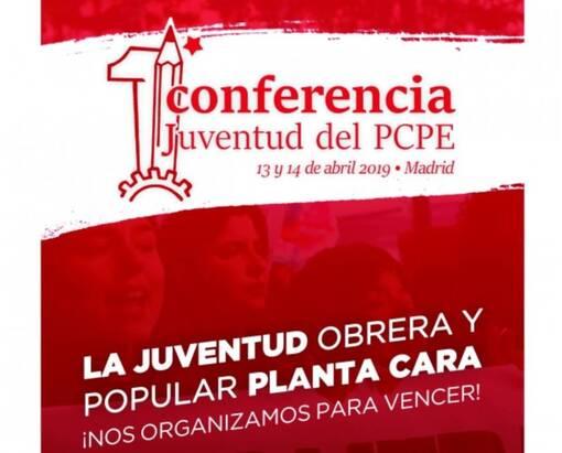 CONGRÈS DES JEUNES COMMUNISTES DU PCPE: L'INTERVENTION DES JRCF ! (jrcf.over-blog.org-18/04/19)