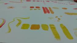 Travail sur les textures et les couleurs