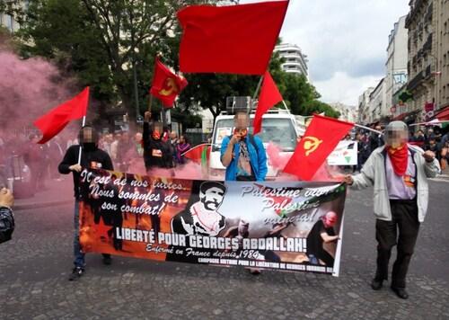 - Photos de la manifestation pour Georges Ibrahim Adballah du 19 juin