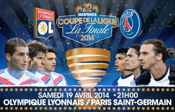 Lyon-PSG finale Coupe de la Ligue 2014