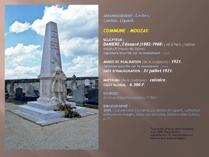 Monument aux Morts de Mouzay