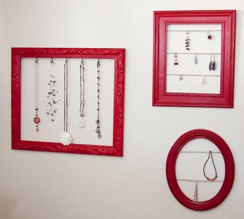 rangement bijoux diy. Black Bedroom Furniture Sets. Home Design Ideas