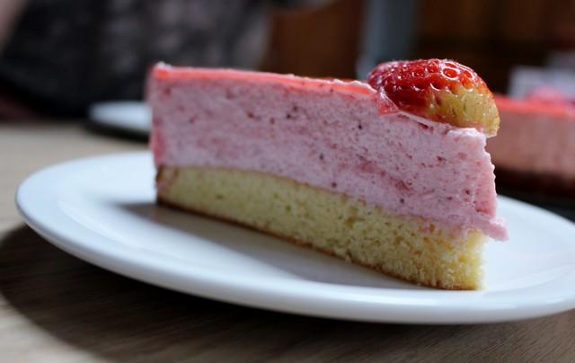Le Bavarois aux fraises