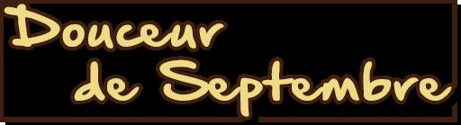 Douceur de Septembre