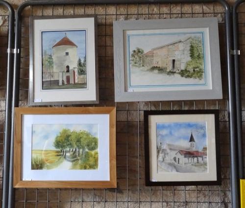 Exposition d'aquarelles à Villiers le Duc...