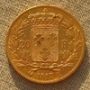 Louis d\'OR  20 francs 1817 Louis XVIII revers.jpg b