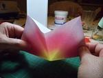bouquet de tulipe en origami