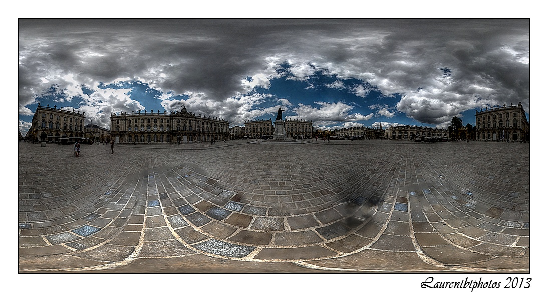 Nancy la place Stanislas en 360°