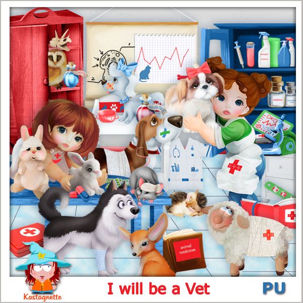 I will be a Vet by Kastagnette