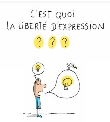 Comment expliquer la liberté d'expression à nos élèves