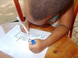 L'écriture cursive