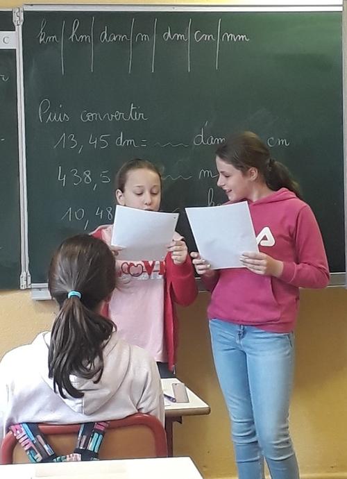 Semaine des maths avec la classe ULIS