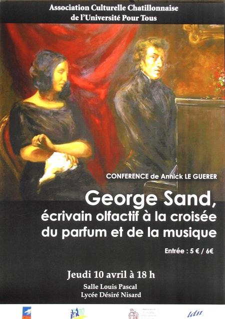 Georges Sand et le parfum