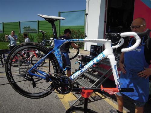 Le vélo de Thibaut Pinot