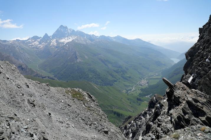Piemont, Italie, proche du col Blanchet