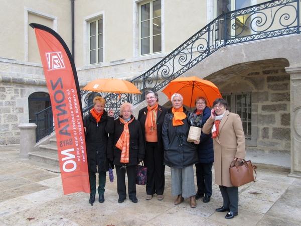 Le Zonta-Club soutient la cause des femmes....