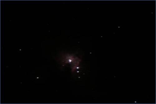 M42 mise au point avec masque de Bahtinov