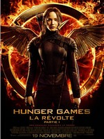 Hunger Games Revolte partie 1 affiche