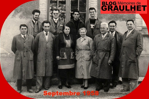 - Septembre 1958 - Groupe d'instituteurs